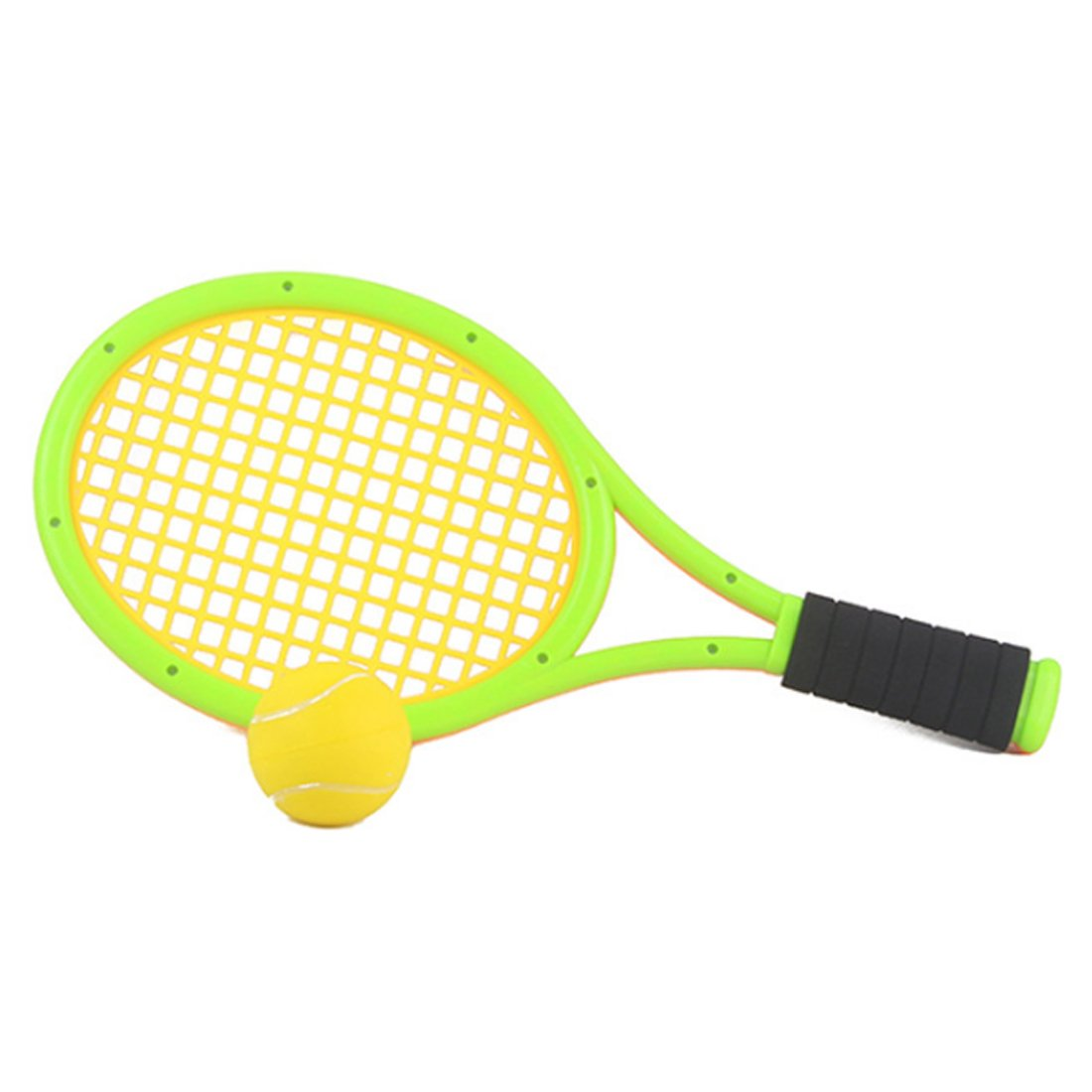 Amazon.com: FenglinTech One Set of Elastic Tennis Racket Childrens Outdoor Sports Toys - Green: Toys & Games