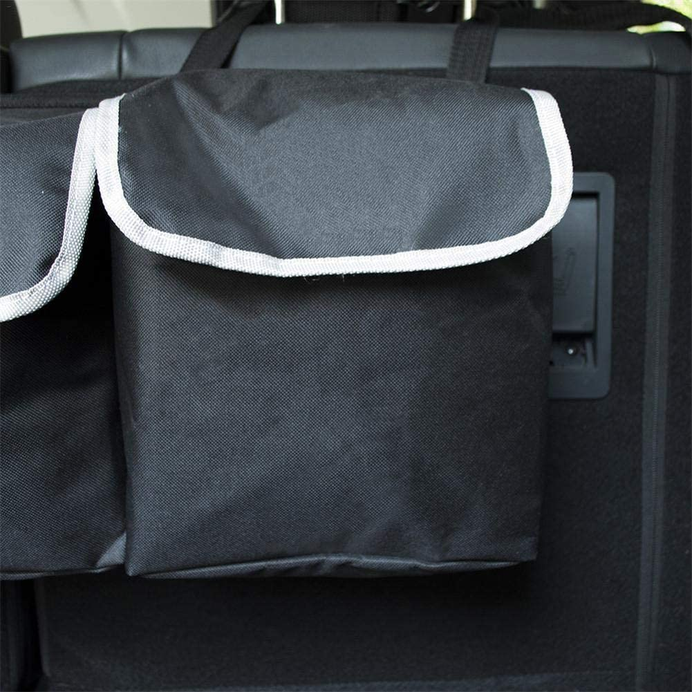 Ridecle Trunk Organizer Car Storage Trunk Organizer Auto Backseat Organizer Truck Storage Car Organizer Back Seat Mesh Pockets