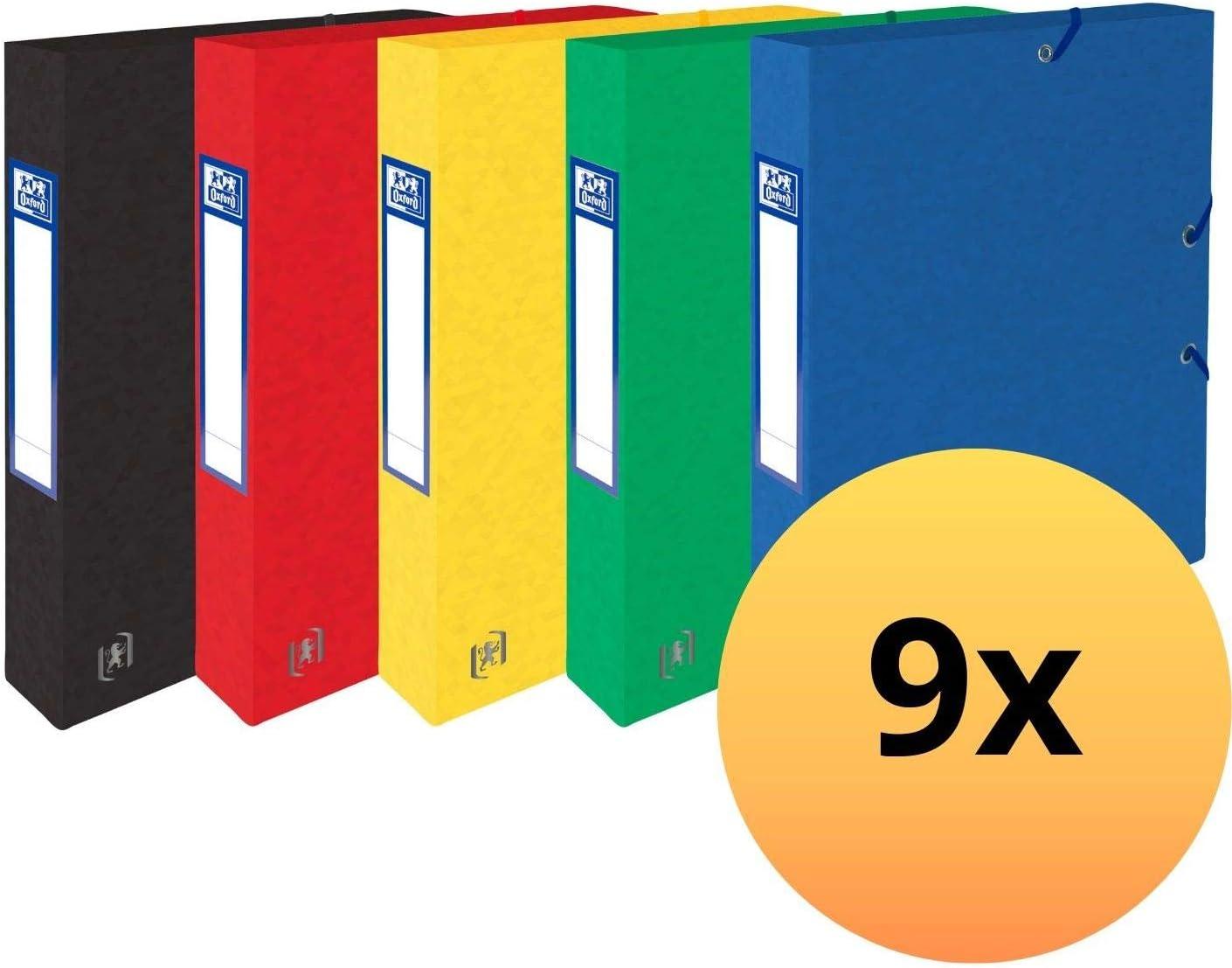 Lot de 10 chemises en carton extra rigide 390 g Rouge Oxford 400115269 Top File