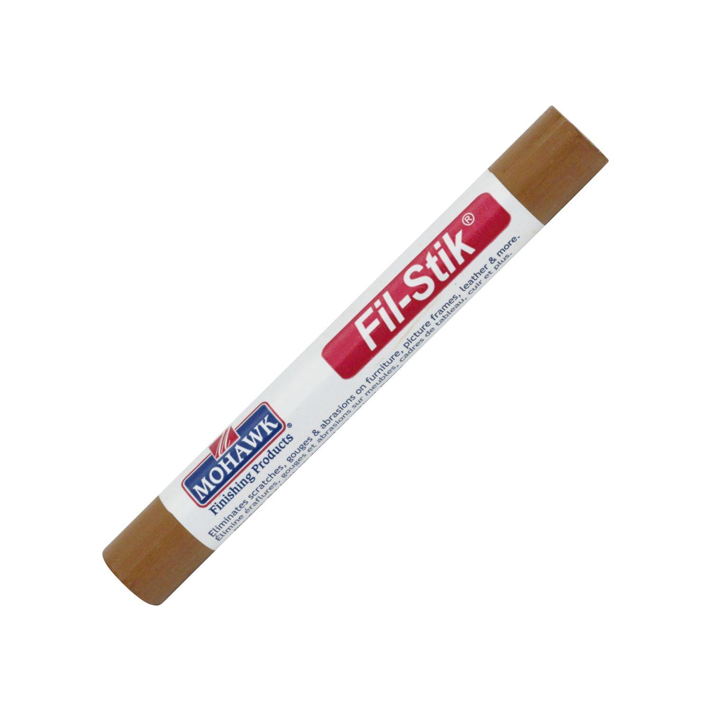 5 Pack Mohawk Fill Stick (Fil-Stik) Furniture Cabinet Touch Up Putty Wax Filler Medium Oak/Toffee M230-2052