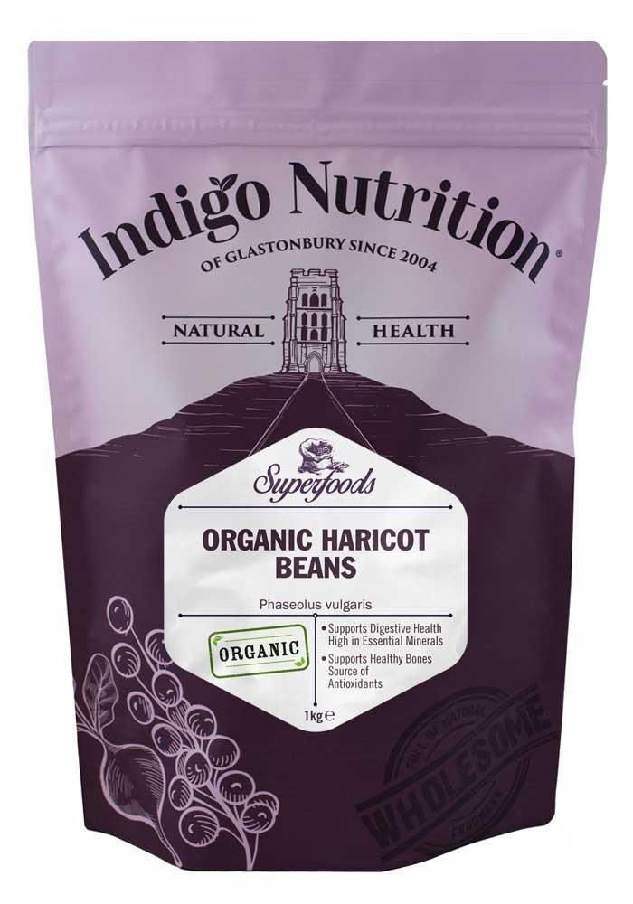 Indigo Herbs Alubias Blancas Orgánicas 1kg: Amazon.es ...
