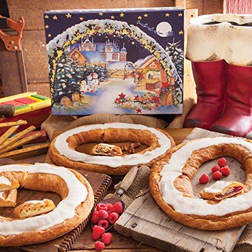Christmas Kringle Assortment Gift Box – 3 Kringles