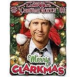 "Warner Brothers National Lampoon's Christmas Vacation, Merry Clarkmas Micro Raschel Throw Blanket, 46"" x 60"""