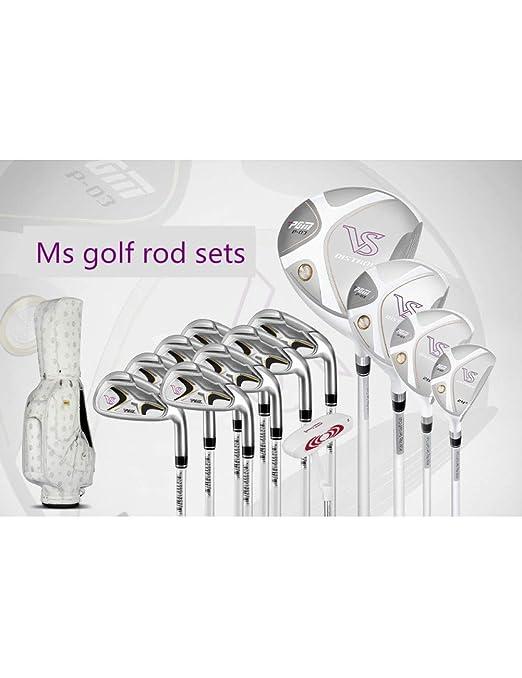 HDPP Club De Golf Club De Golf Rose Gold Lady Sleeve Juego ...