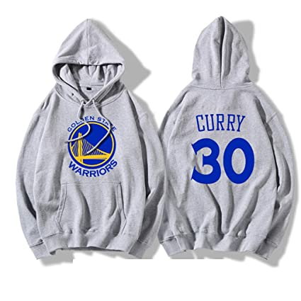 Felpa Con Cappuccio NBA Golden State Warriors Stephen Curry Pullover Con Cappuccio Blu Felpa Da Basket Uomo E Donna