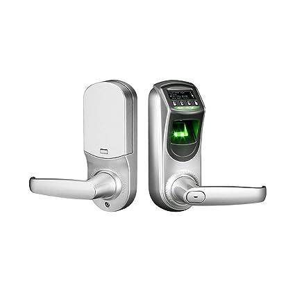 ZKTeco contraseña de la huella digital biométrico cerradura de la puerta de seguridad electrónica inteligente sin