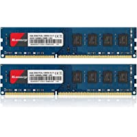 Kuesuny 16GB Kit (2X8GB) DDR3L / DDR3 1600MHz Udimm Ram PC3L / PC3-12800 PC3L / PC3-12800U 1.35V / 1.5V CL11 240 Pin…