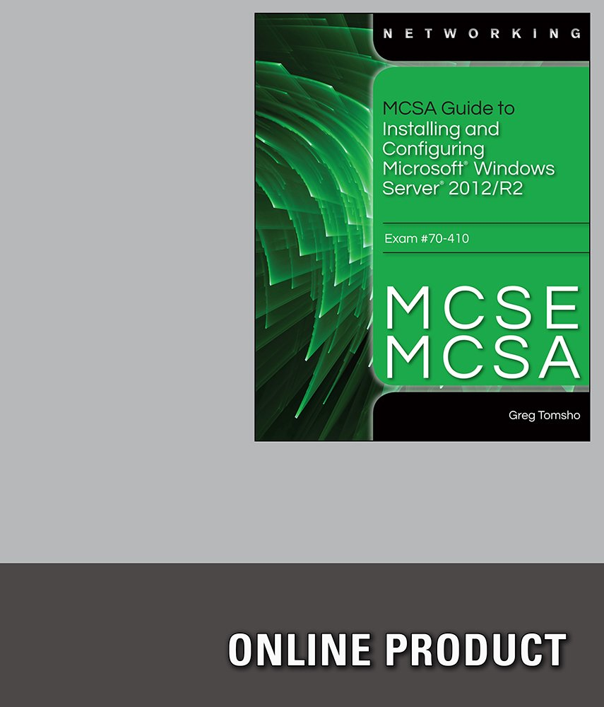 Amazon labconnection for tomshos mcsamcse guide to amazon labconnection for tomshos mcsamcse guide to installing and configuring windows server 2012 exam 70 410 1st edition courses 1betcityfo Image collections