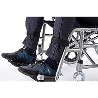 2 correas para reposapiés de silla de ruedas