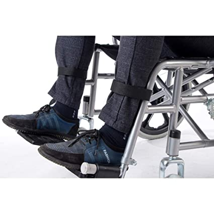 2 correas para reposapiés de silla de ruedas, cinturón de seguridad ...