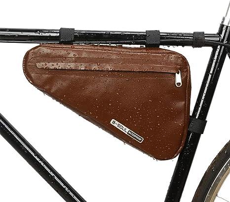 Greyghost Bicicleta Triángulo Marco Bolsa Ciclismo Almacenamiento ...