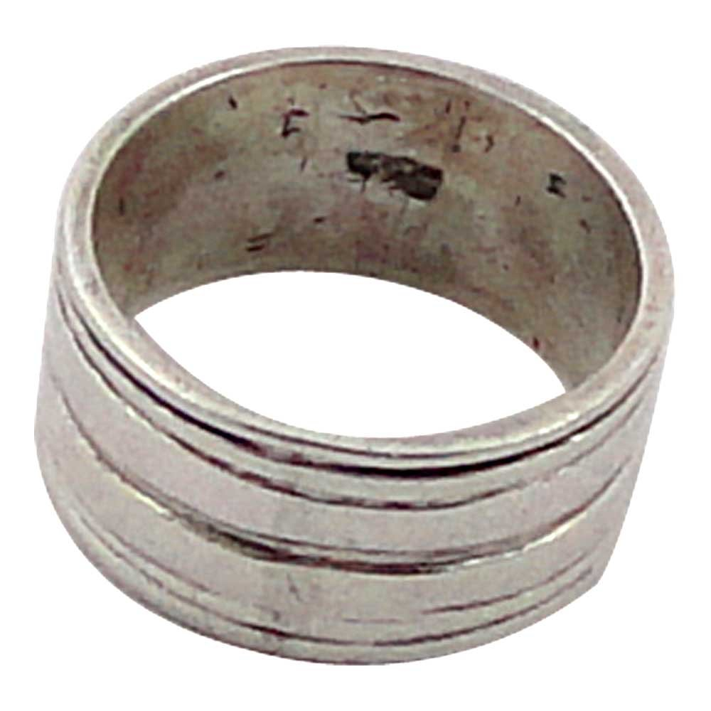srgjewellers Sterling Silver 92.5 Band Ring Size 7.00 Designer Handmade Minimal Jewelry India # 14037