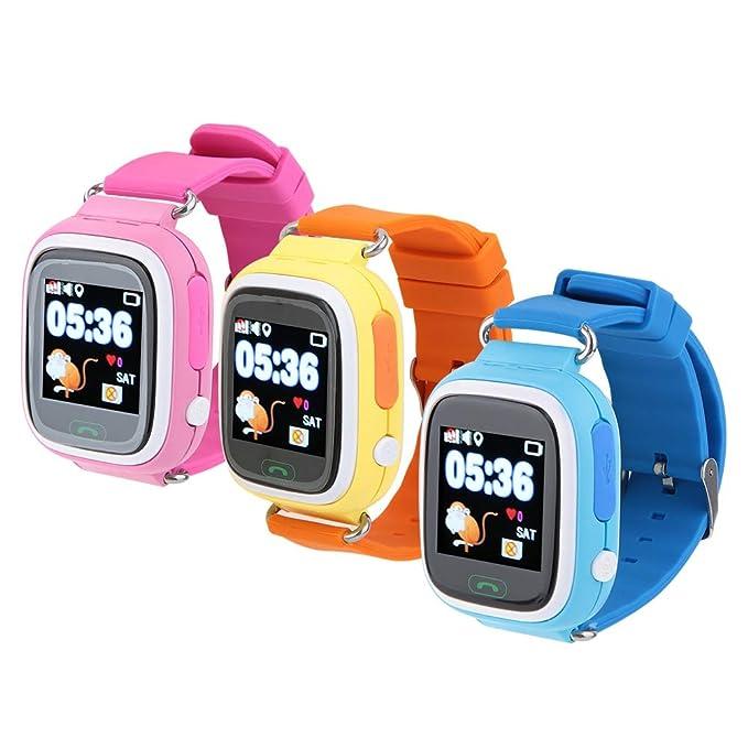 Alomejor Reloj Inteligente para Niños Q90 Color De 1.22 Pulgadas Y ...