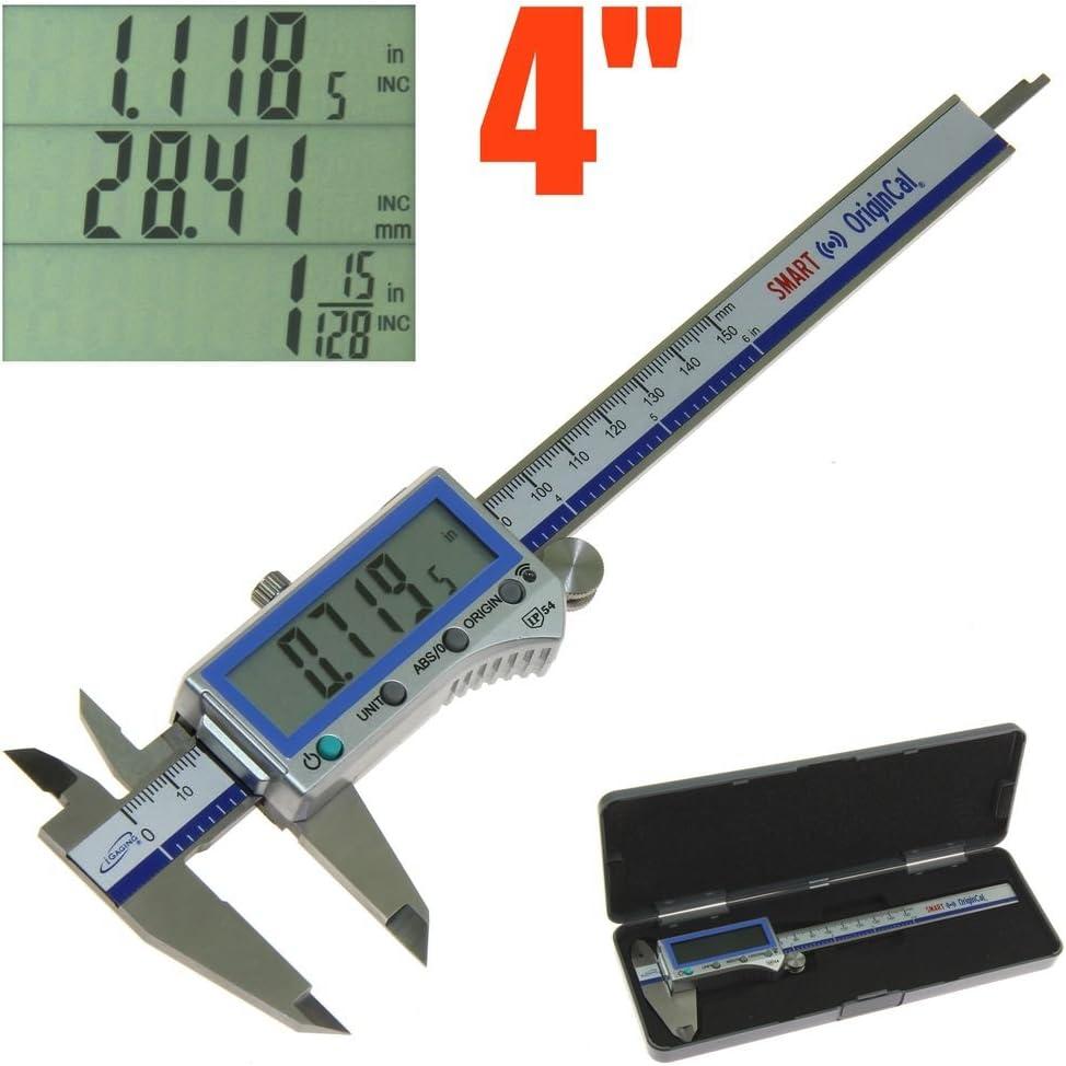 iGaging Fastener Caliper Digital IP54 0-6//0.0005 Metric//Inch//Fraction 128th//32nd