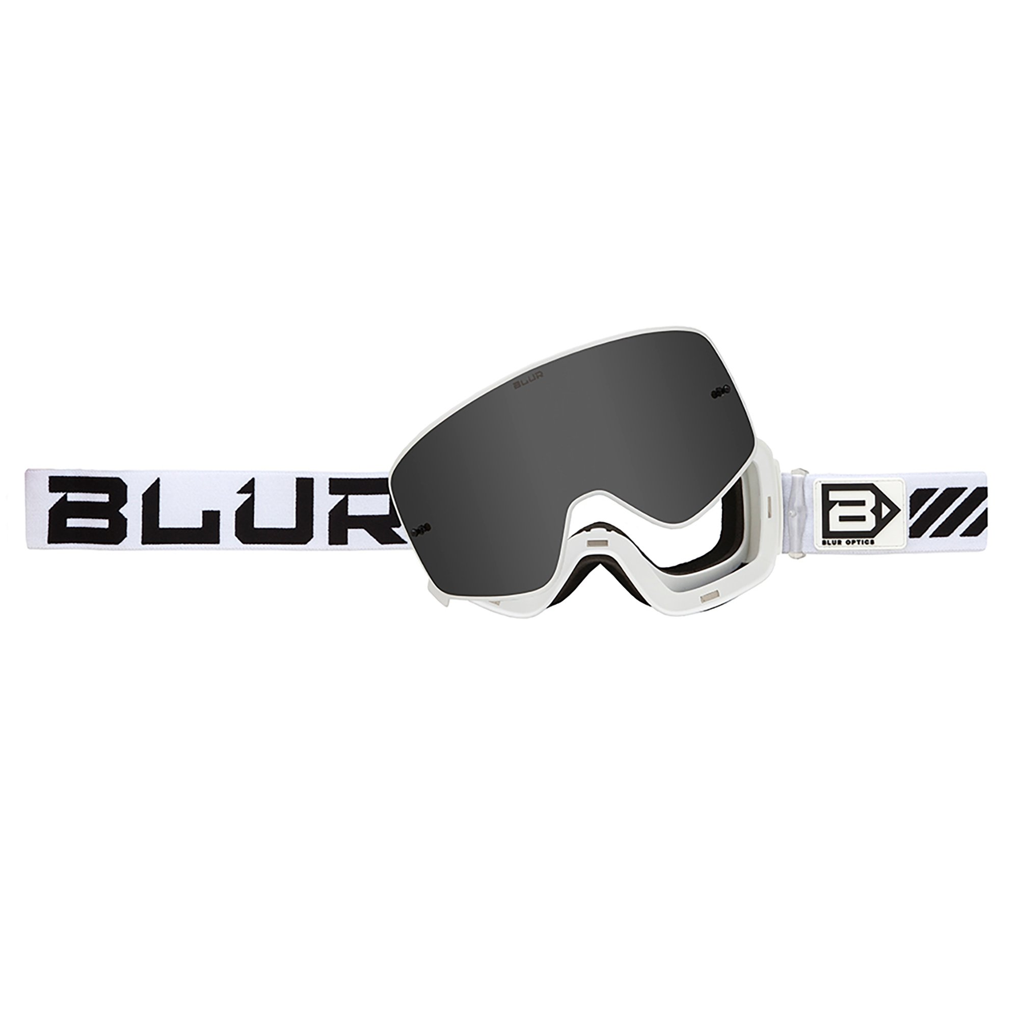 Blur Unisex-Adult B-50 Force Goggle with Magnetic Lens (White, One Size) by Blur