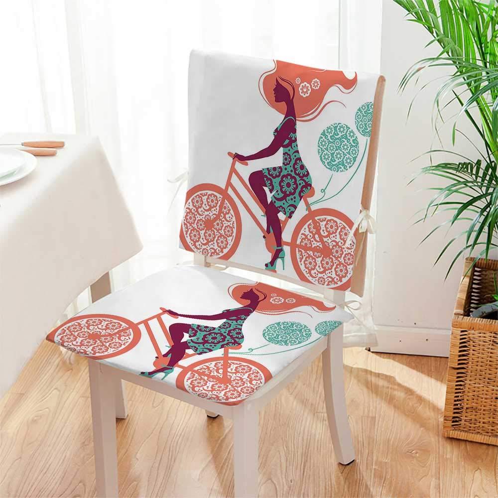 Amazon.com: Mikihome – Cojín para silla (juego de 2), diseño ...