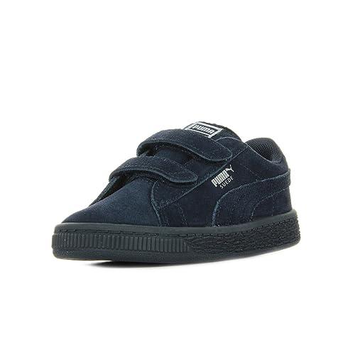 Puma Suede 2 Straps Inf, Sneaker Basse Unisex – Bambini
