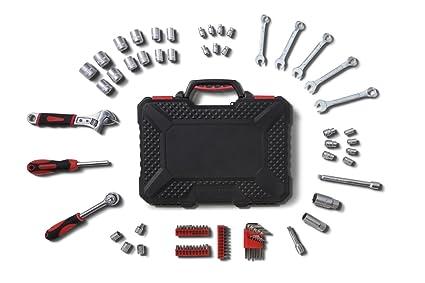 WOLFGANG Caja de 83 herramientas manuales | Juego de Puntas de ...