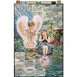 Design Works Angel Reflection Calendar Felt & Sequin Kit