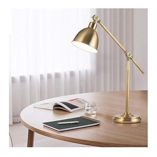 LHF Lámpara de escritorio de lectura, dormitorio de estudiante ...