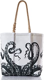 product image for Sea Bags Recycled Sail Cloth Octopus Diaper Bag
