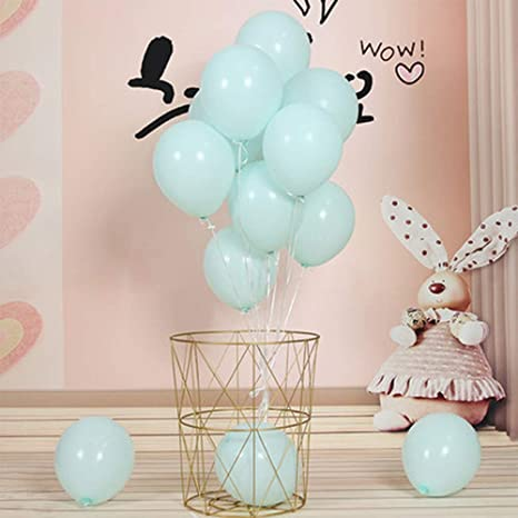 100x Macaron Latex Balloons Baby Shower Birthday Wedding Party Decoration 10Inch