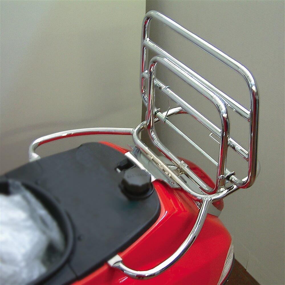 Cuppini Rear Rack ; Vespa LX Chrome