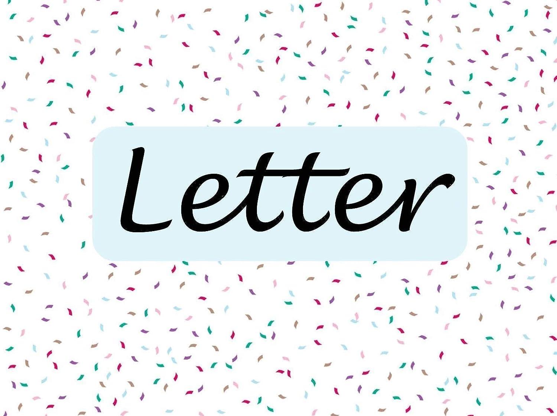 Additional Letter