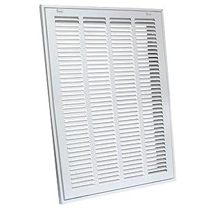 "EZ-FLO 61631 Return Air Filter Grille, 16"" x 20"", White"