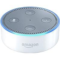 Amazon Echo Dot (2nd Gen) – Smart Speaker with Alexa – White