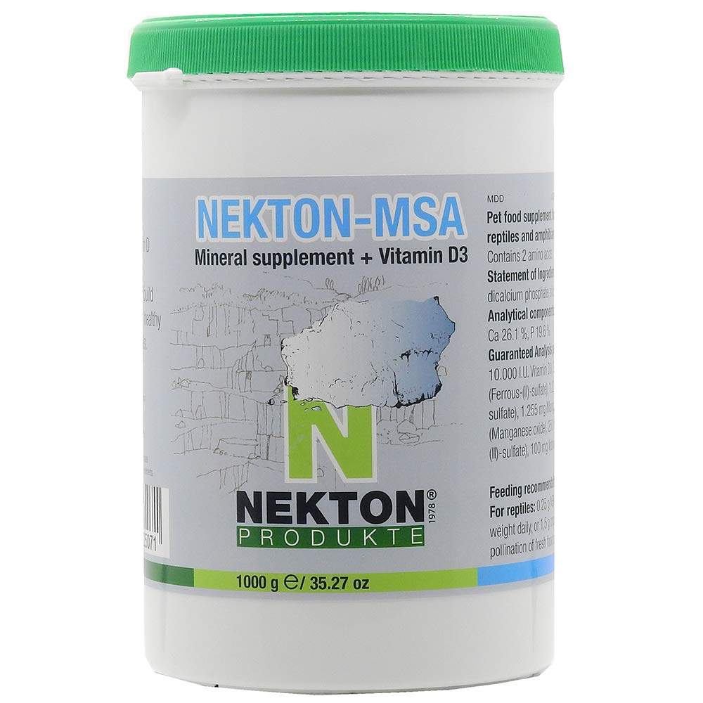 Nekton MSA High-Grade Mineral Supplement for Pets 1000g by Nekton