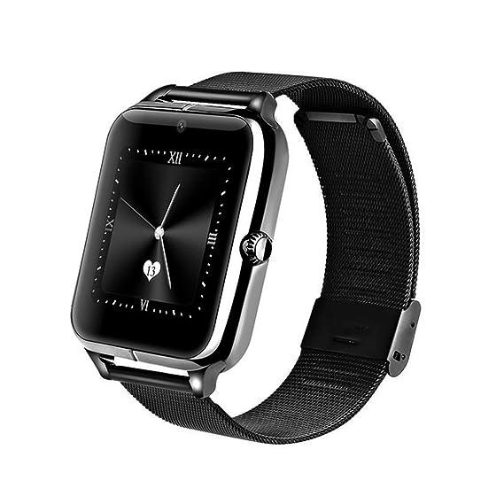 Detectoy Z60 - Reloj Inteligente con Pantalla Bluetooth de 1,54 Pulgadas con Soporte para