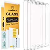 [3-PACK]- Mr Shield For Samsung Galaxy J7 [Tempered Glass] Screen Protector [0.3mm Ultra Thin 9H Hardness 2.5D Round Edge] with Lifetime Replacement Warranty