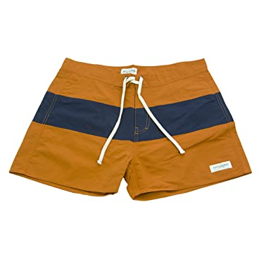 a2d57510ff Saturdays NYC Men's Grant Board Shorts Sz 28 Rust/Navy