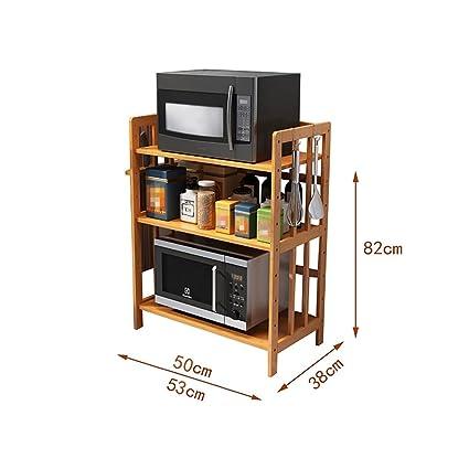 Soporte para cubiertos de bambú, cocina Multifunción ...