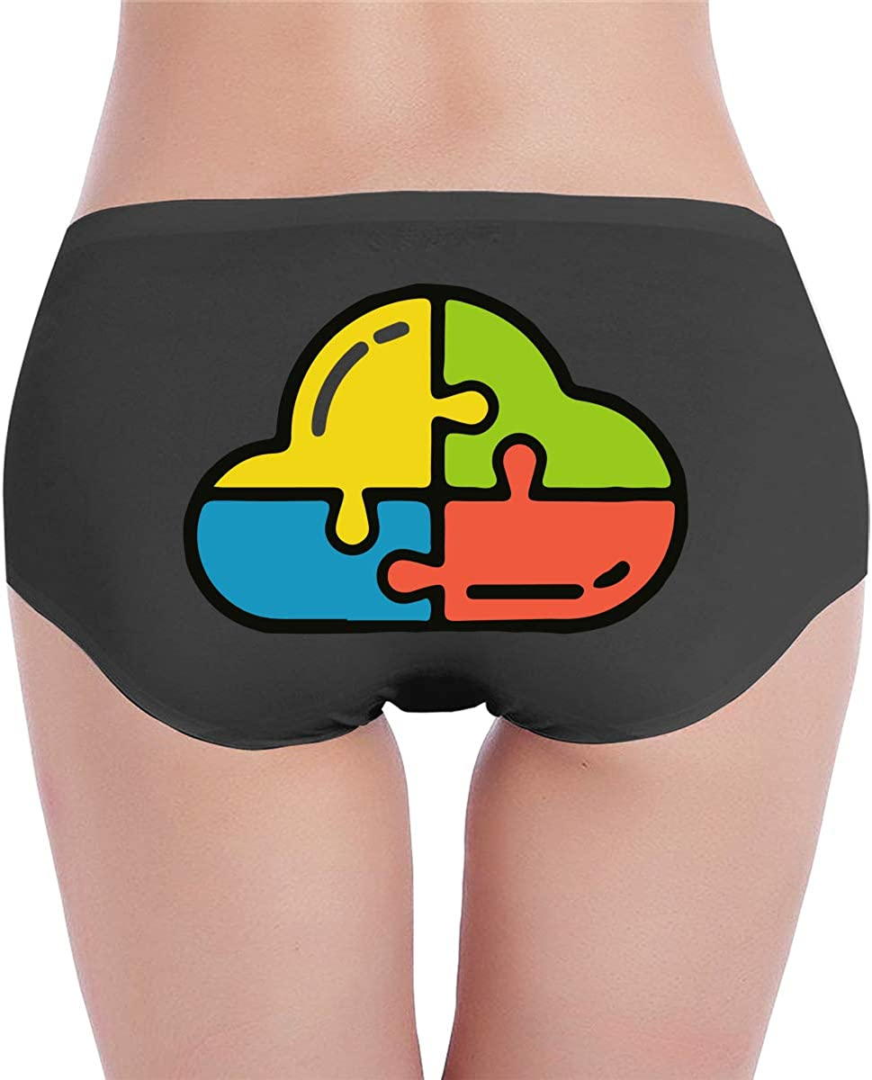 LSCOKO Autism 13 Womens Low-Rise Panties Stretch Underpants for Girls