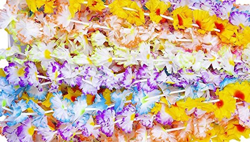 48 Jumbo Carnation flower leis - party (Carnation Leis)