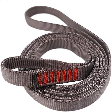 22KN Sicurezza Arrampicata Tessitura Cinturino Nylon Fall Protezione Belt Aperto