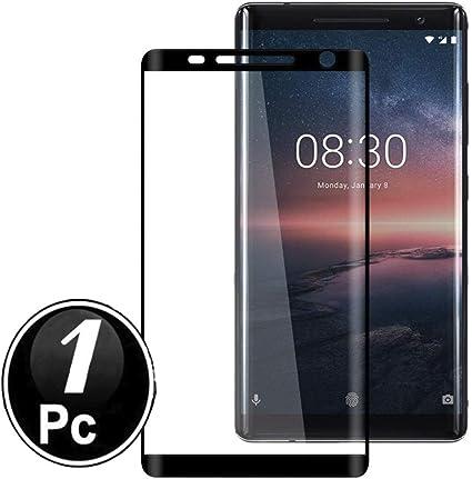 Nokia 8 Sirocco Protector de Pantalla, Scott-ES [Curvado 3D ...