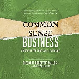 Common-Sense Business Audiobook