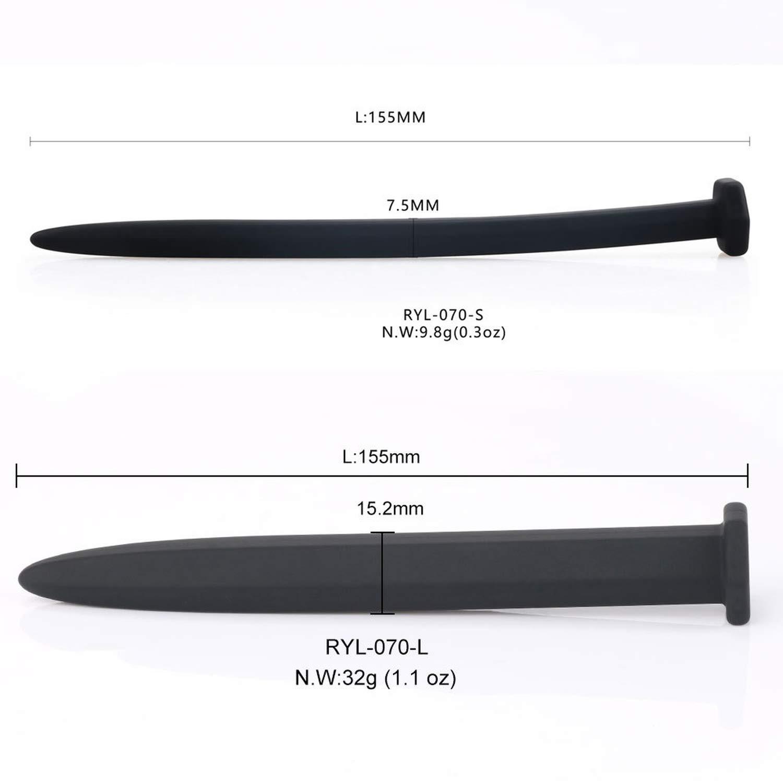 Amazon.com: Silicona pene Plug uretral sonido catéter dilatador pene suena uretral Plug juguetes sexuales para Hombres dilatador uretral juguetes, ...