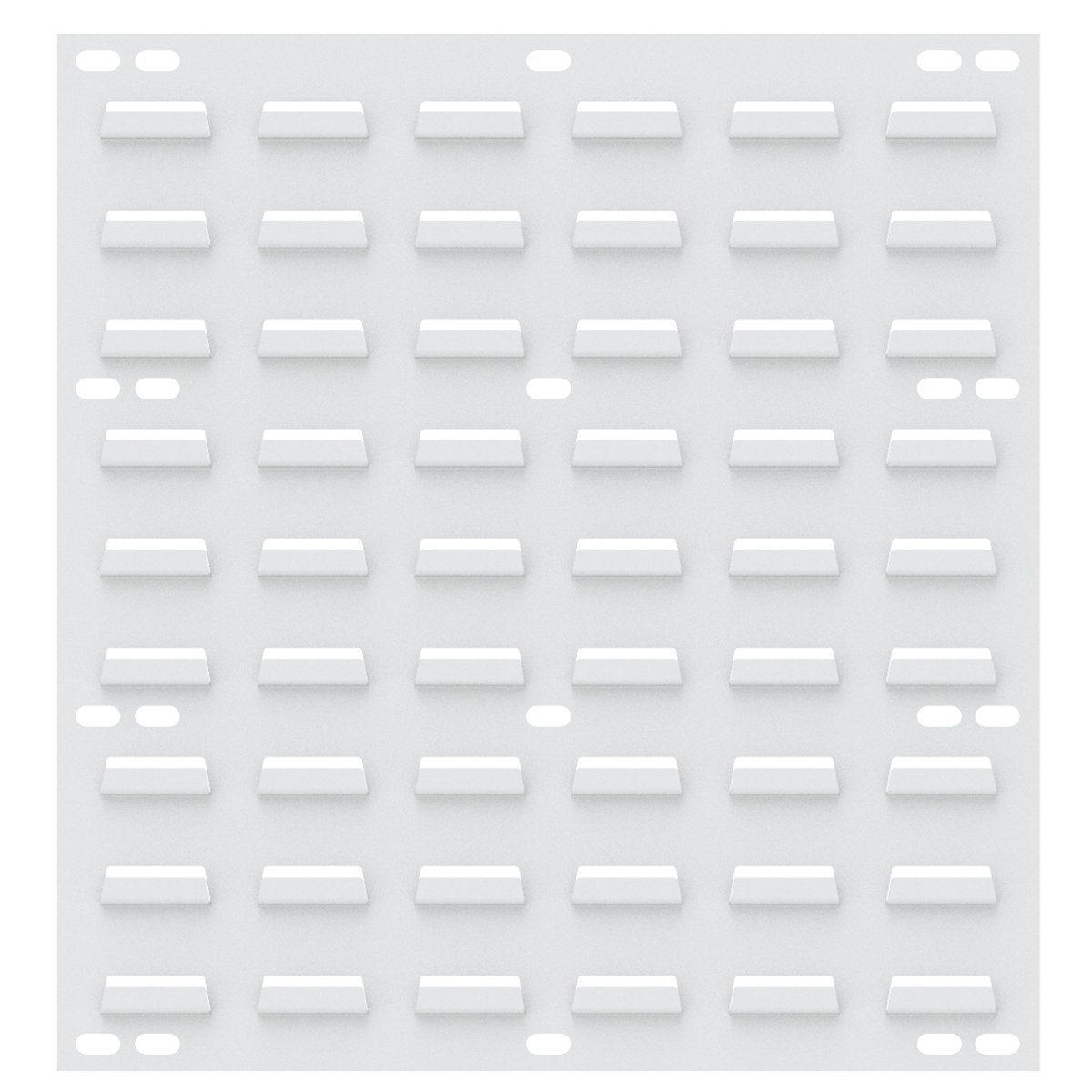 Textured White 18 x 19 4 Pack 18 x 19 Akro-Mils 30618TEXWHT Wall Louvered Panel