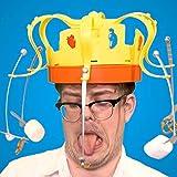Crown Food Game Hat Rotating Crown Snacks Cap Electronic Spinning Crown Snacks Food Kids & Family Game