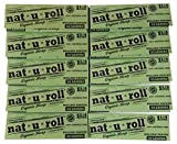 Nat-U-Roll Unbleached Natural Rolling Paper Organic Hemp 1.25 Size -10 Pack