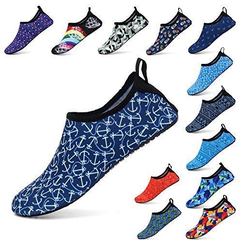 Socks Shoes Yoga Surf Zefani Exercise Anchor Unisex Swim Navy Summer Water Aqua Quick Outdoor for Beach Drying q8qgp