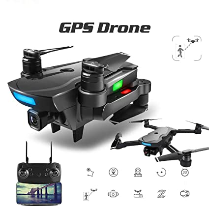 Drone GPS, Drone Profesional con Camara 1080P HD, Drone Brushless ...