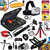 Xtech® PROFESSIONAL GoPro HERO Accessory Kit for GoPro HERO4 Hero4, GoPro Hero3+, GoPro Hero3, GoPro Hero2, GoPro HD Motorsports HERO, GoPro Surf Hero, GoPro Hero Naked, GoPro Hero 960, GoPro Hero HD 1080p, GoPro Hero2 Outdoor Edition Digital Cameras Inc