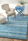 Nuloom 5′ x 8′ Hand Tufted Classie Shag Rug in Sky Blue Review