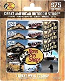 Bass Pro Shops Gift Cards, Multipack of 3