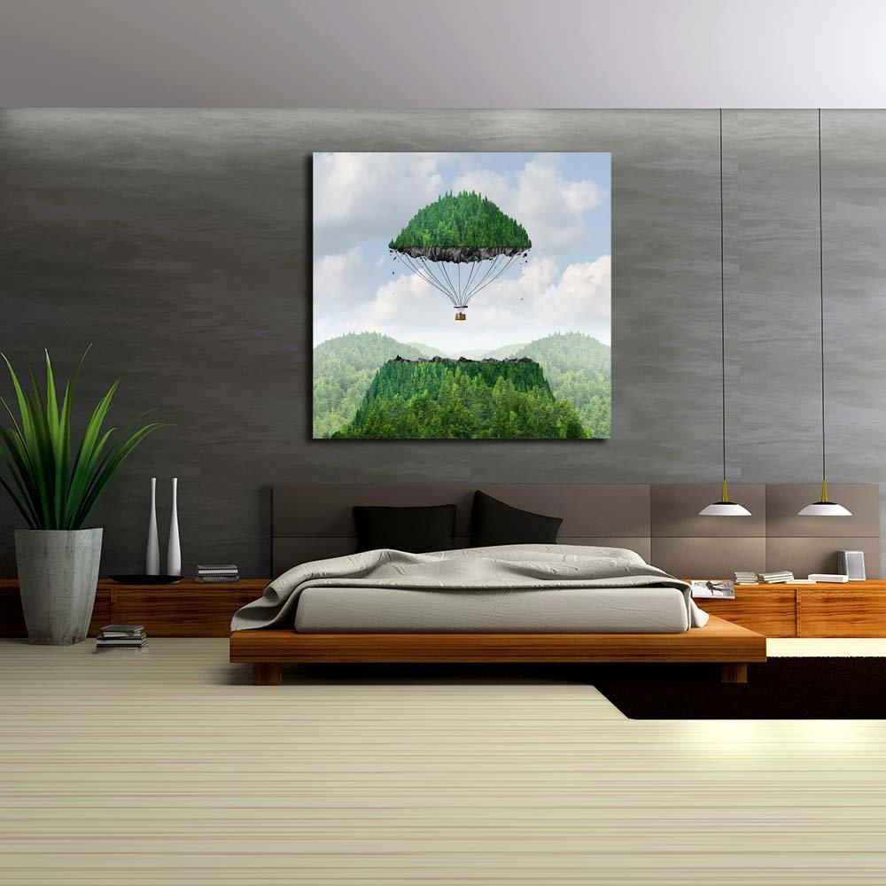 Pitaara Imagination Box Imagination Pitaara Concept Art Unframed Canvas Painting 38.2 x 36.7inch d73246